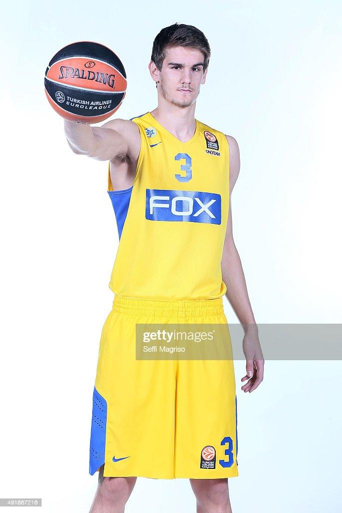 Maccabi Tel Aviv 2015/2016 Turkish Airlines Euroleague Basketball Media Day : News Photo