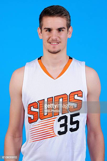 Dragan Bender of the Phoenix Suns poses for a headshot during the 20162017 Phoenix Suns Media Day on September 26 at Talking Stick Resort Arena in...