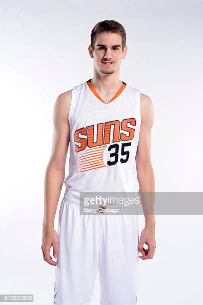 Dragan Bender of the Phoenix Suns poses for a portrait at the 20162017 team media day on September 26 at Talking Stick Resort Arena in Phoenix...