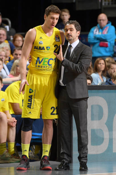 alba berlin v fc bayern muenchen easycredit bbl photos and images getty images. Black Bedroom Furniture Sets. Home Design Ideas
