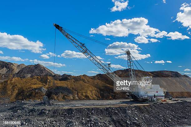 dragline at Coal Mine