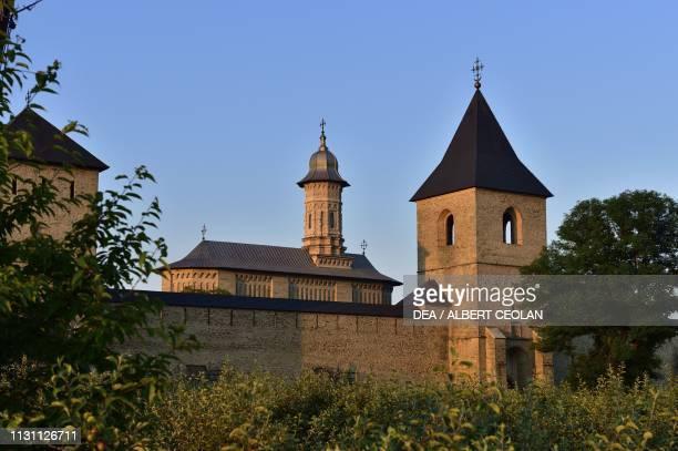 Dragomirna Monastery and the Church of the Holy Spirit Mitocu Dragomirnei Bukovina Moldova Romania 17th century
