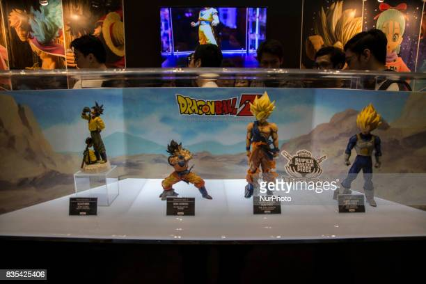 Dragon Ball Super is seen in Jakarta Indonesia on 19 August 2017 during C3AFA event C3AFA is 6th Japanese popculture event The scale has expanded to...