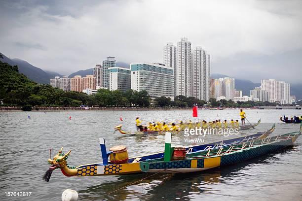 Drachenbootrennen in Hong Kong