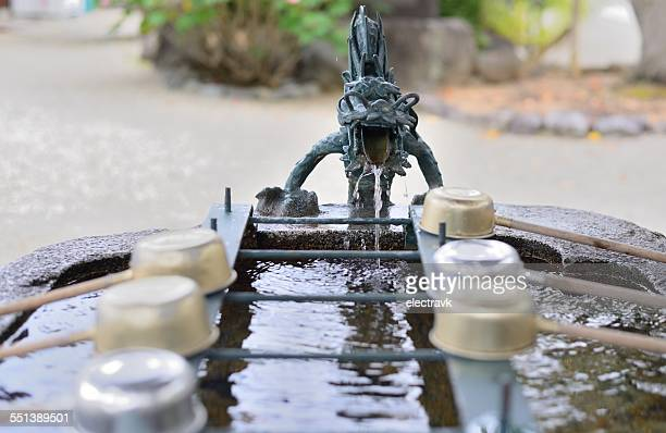 dragon fountain - asuka stock pictures, royalty-free photos & images