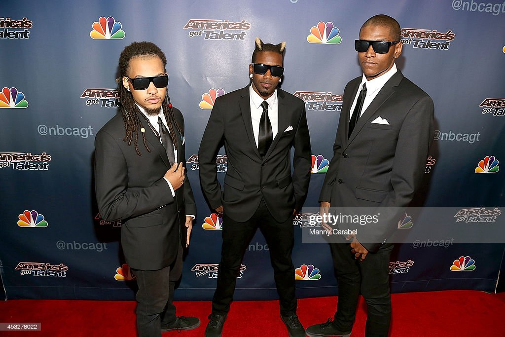 Dragon House The Agents attends 'America's Got Talent' season 9 post show red carpet event at Radio City Music Hall on August 6, 2014 in New York City.
