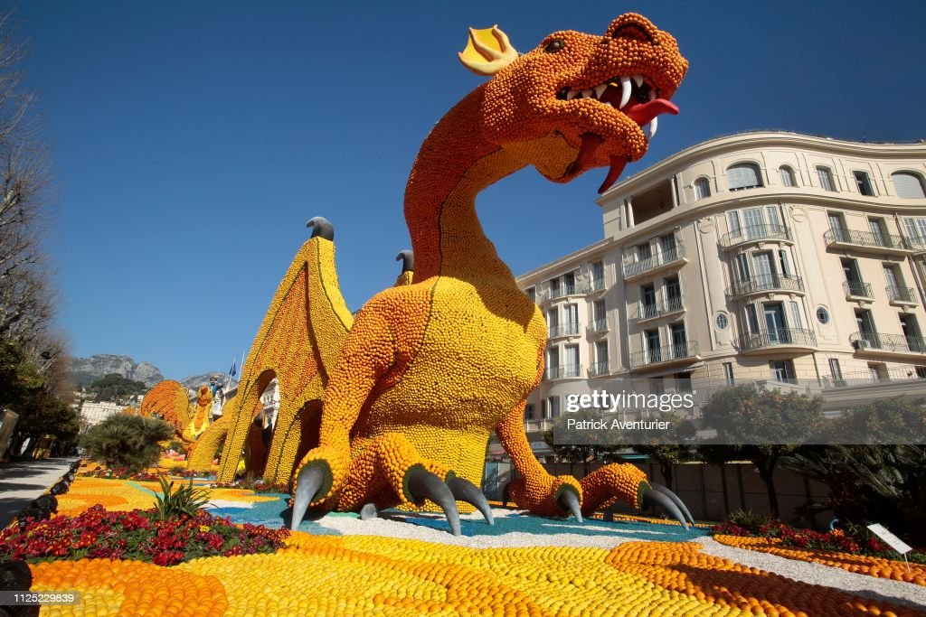 "FRA: 86th ""Fete Du Citron"" : Opening Cereomny Of Lemon Festival  In Menton"