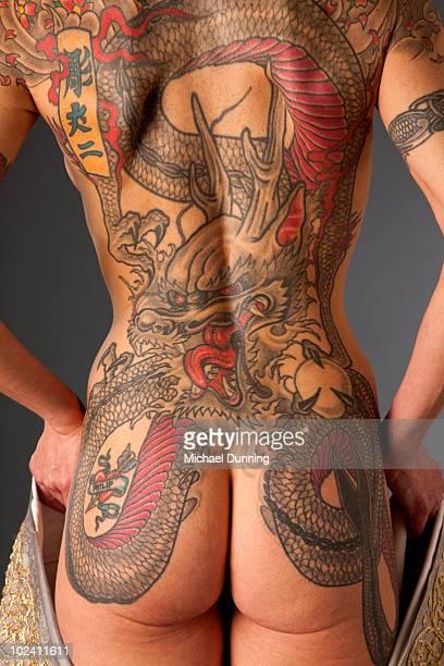 Dragon Tattoo Lady
