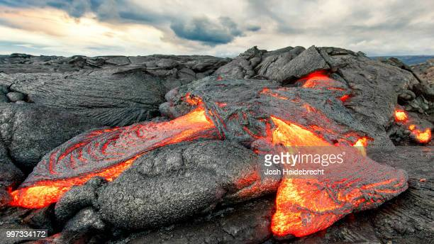 dragon's breath - lava stock pictures, royalty-free photos & images