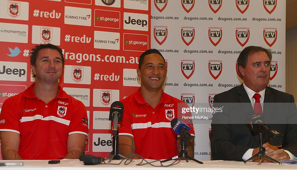 St George Illawarra Sign Benji Marshall : News Photo