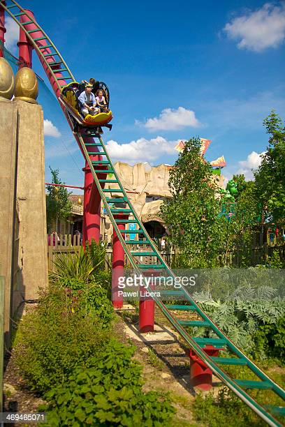 Dragon's Fury Ride at Chessington World of Adventures Theme Park