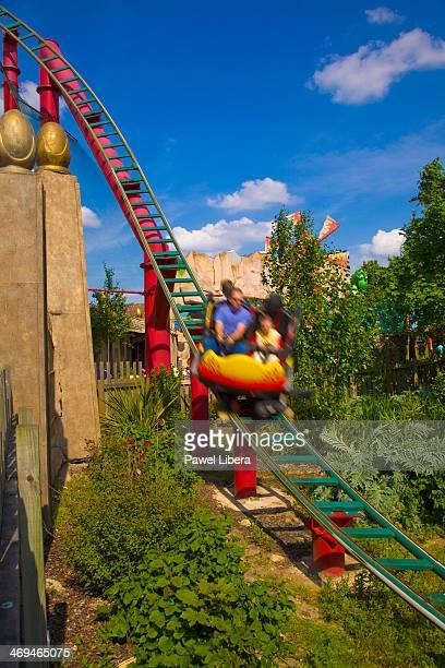 Dragon's Fury Ride at Chessington World of Adventures Theme Park