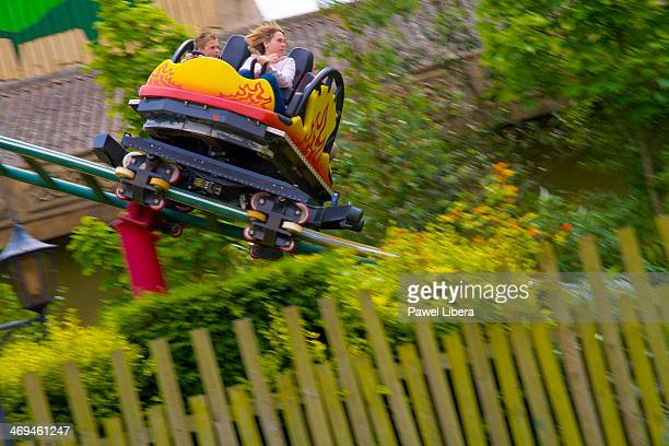 Dragon's Fury rollercoaster at Chessington World of Adventures