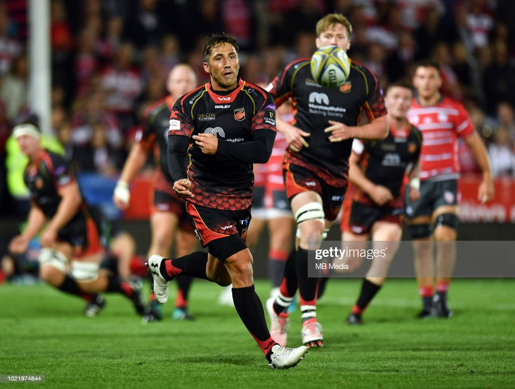 Gloucester Rugby v Dragons : News Photo