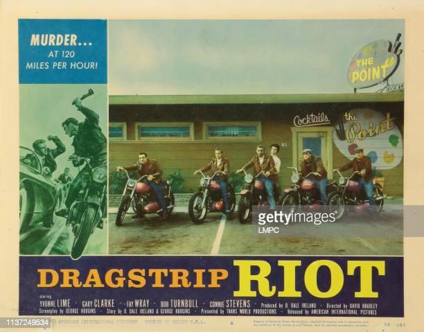 Dragstrip Riot lobbycard 1958