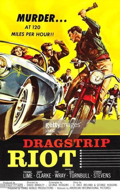 Dragstrip Riot poster poster art 1958