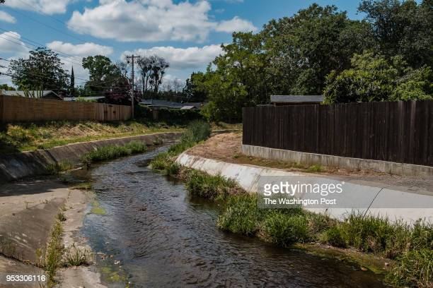 A drainage canal in a neighborhood of Rancho Cordova where the East Area Rapist would hide in order to elude authorities when he was terrorizing the...