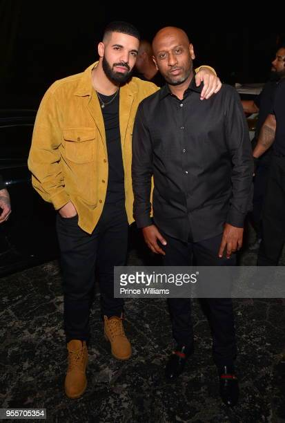 Drake and Alex Gidewon attend Gold Room saturday Nights at Gold Room on May 6 2018 in Atlanta Georgia