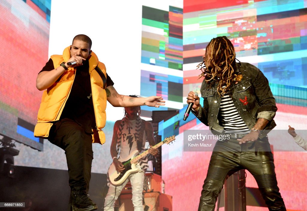 2017 Coachella Valley Music And Arts Festival - Weekend 1 - Day 2 : News Photo