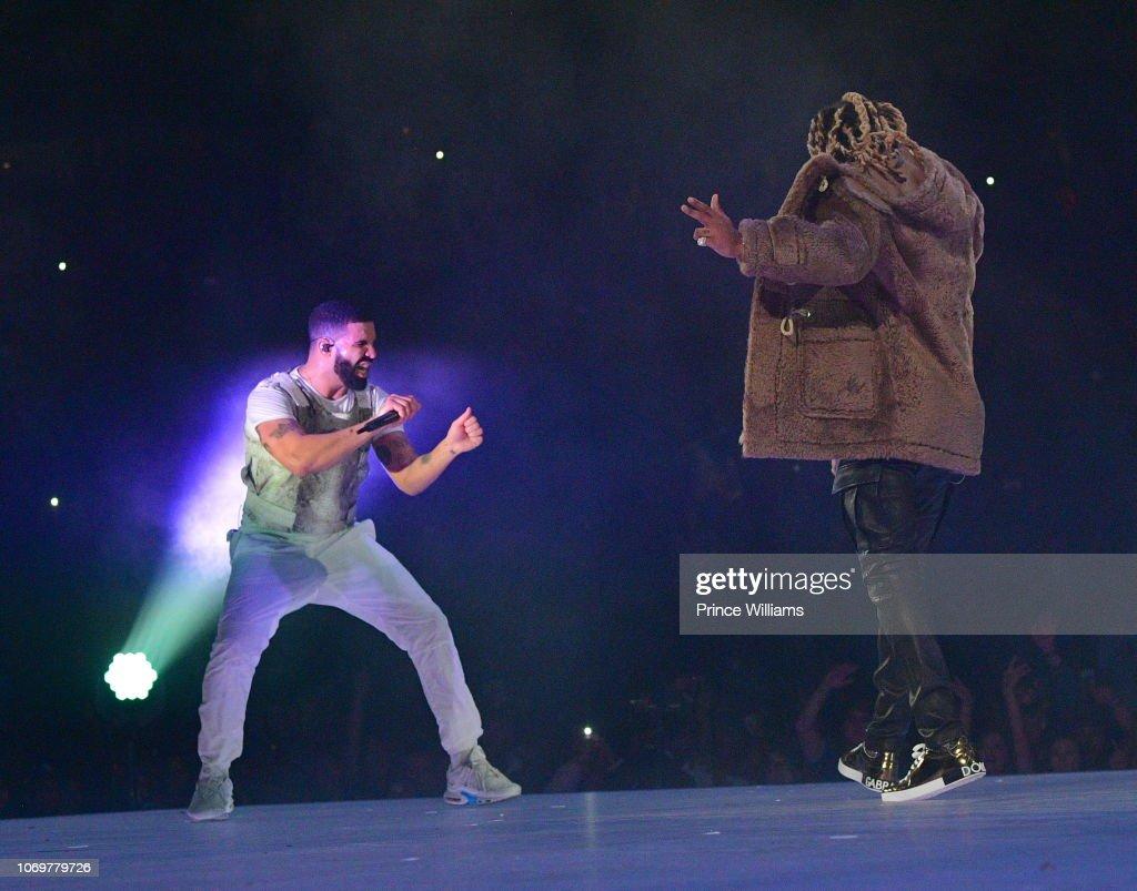 Drake In Concert - Atlanta, GA : News Photo
