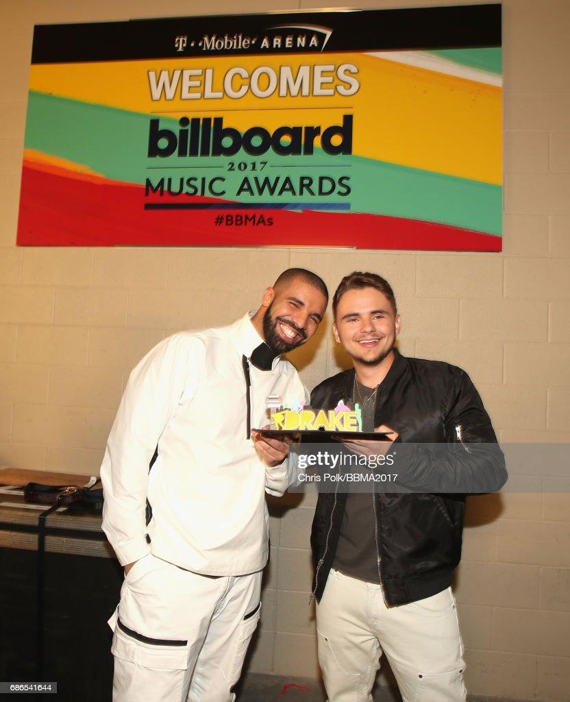 Drake and Michael Joseph Jackson, Jr. attend the 2017 Billboard Music Awards at T-Mobile Arena on May 21, 2017 in Las Vegas, Nevada.