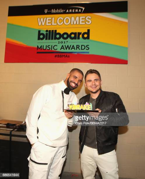 Drake and Michael Joseph Jackson Jr attend the 2017 Billboard Music Awards at TMobile Arena on May 21 2017 in Las Vegas Nevada