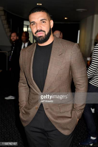 """Drake attends HBO's """"Euphoria"""" premiere at the Arclight Pacific Theatres' Cinerama Dome on June 04, 2019 in Los Angeles, California."""