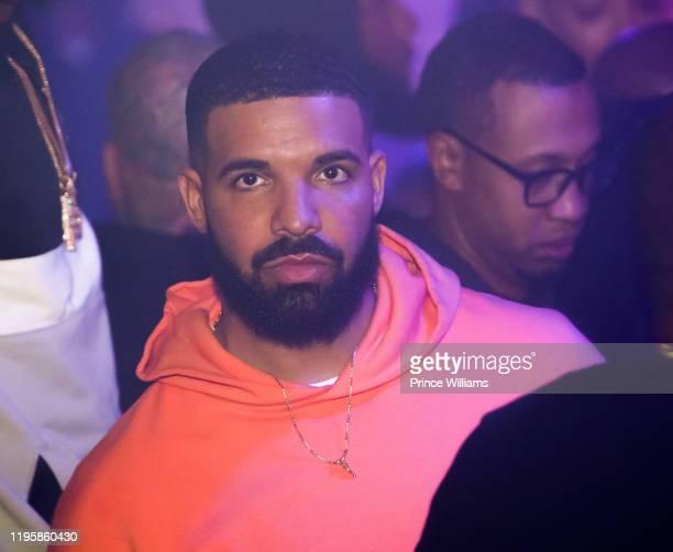 Drake attends OVO Chubbs Birthday Celebration at Allure on December 17 2019 in Atlanta Georgia
