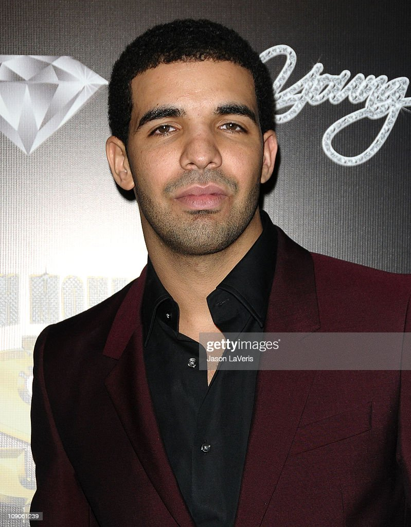 Drake attends the Cash Money Records annual Pre-Grammy Awards party at The Lot on February 12, 2011 in West Hollywood, California.