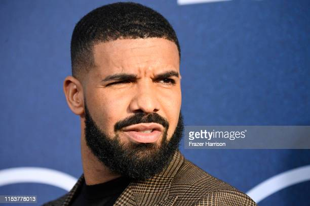 Drake attends the LA Premiere Of HBO's Euphoria at The Cinerama Dome on June 04 2019 in Los Angeles California