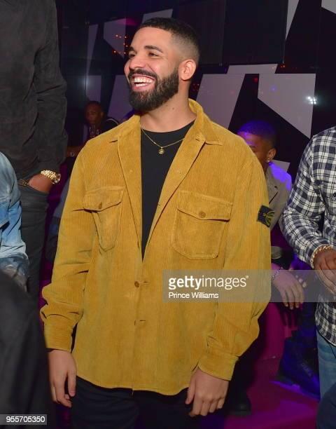 Drake attendsGold Room Saturday Nights at Gold Room on May 6 2018 in Atlanta Georgia