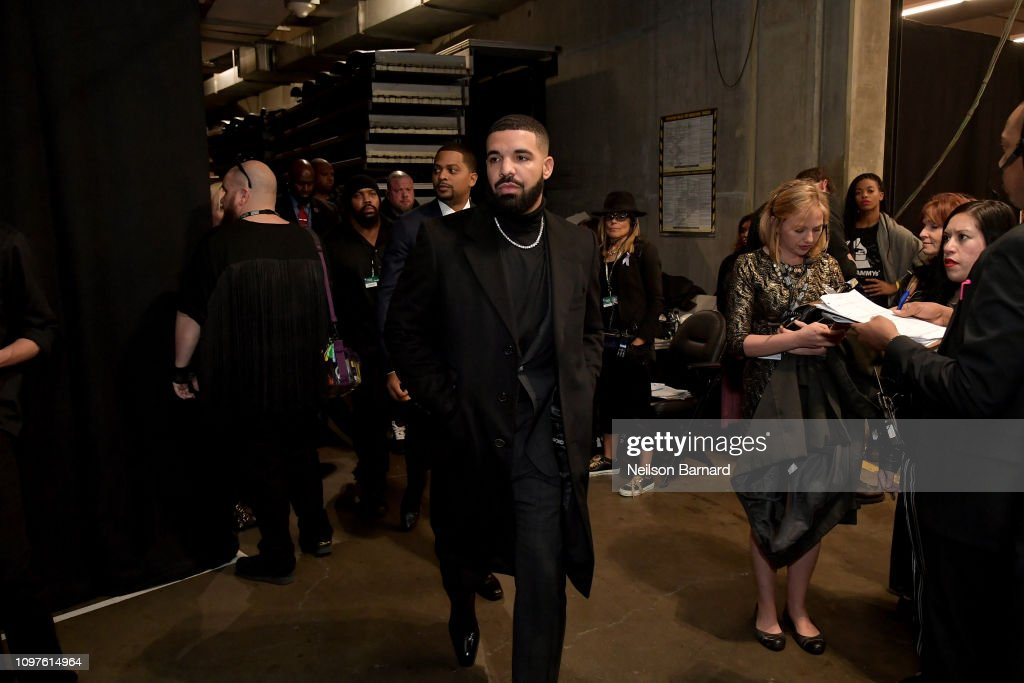 61st Annual GRAMMY Awards - Backstage : News Photo