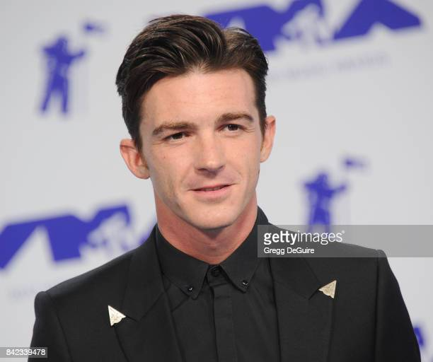 Drake Bell arrives at the 2017 MTV Video Music Awards at The Forum on August 27 2017 in Inglewood California