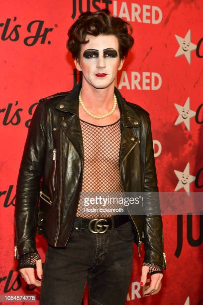 Drake Bell attends Just Jared's 7th Annual Halloween Party at Goya Studios on October 27 2018 in Los Angeles California