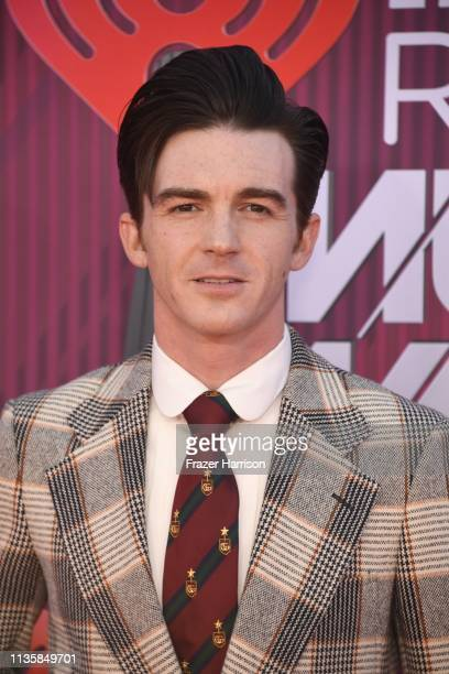 Drake Bell attends the 2019 iHeartRadio Music Awards which broadcasted live on FOX at Microsoft Theater on March 14 2019 in Los Angeles California