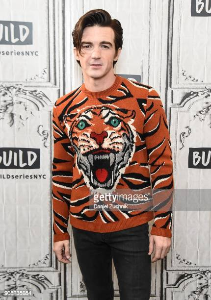 Drake Bell attends the Build Series to discuss his new album 'Honest' at Build Studio on January 15 2018 in New York City