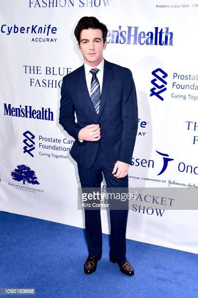 Drake Bell attends the The 3rd Annual Blue Jacket Fashion Show Benefitting The Prostate Cancer Foundation at Pier 59 Studios on February 7 2019 in...