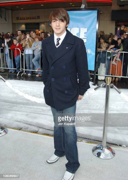 Drake Bell during 'Ice Age 2 The Meltdown' Los Angeles Premiere Arrivals at Grauman's Chinese Theater in Hollywood California United States