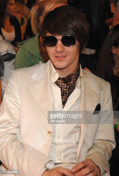 Drake Bell during Nickelodeon's 20th Annual Kids' Choice Awards Audience and Backstage at Pauley Pavilion UCLA in Westwood California United States