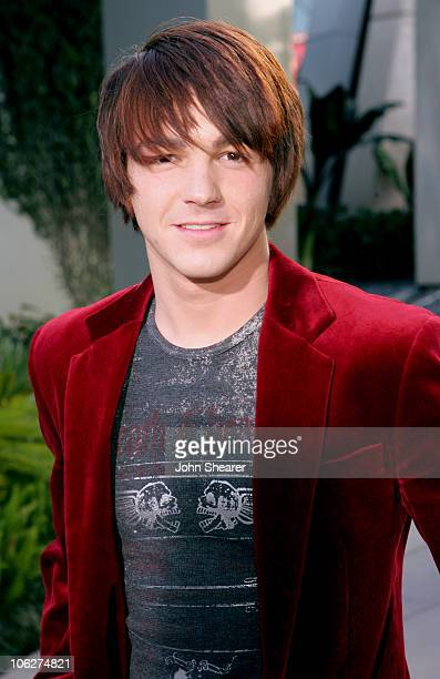 Drake Bell during Yours Mine and Ours Los Angeles Premiere Red Carpet at Cinerama Dome in Hollywood California United States