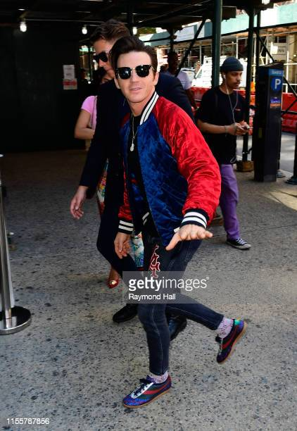 Drake Bell is seen outside build studio on July 15 2019 in New York City