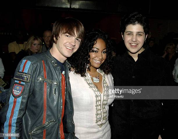 Drake Bell Raven and Josh Peck during Nickelodeon's 18th Annual Kids Choice Awards Backstage and Audience at Pauley Pavillion in Los Angeles...