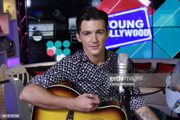 Drake Bell visits the Young Hollywood Studio on August 23 2017 in Los Angeles California