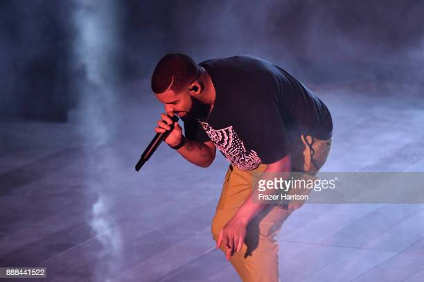 Drake celebrates Miami Art Week at the American Express Platinum House at The Miami Beach EDITION on December 7 2017 in Miami Beach Florida