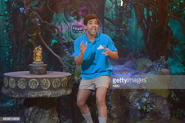 LIVE Drake Episode 1652 Pictured Drake as host during the Indiana Jones Stunt Spectacular on January 18 2014