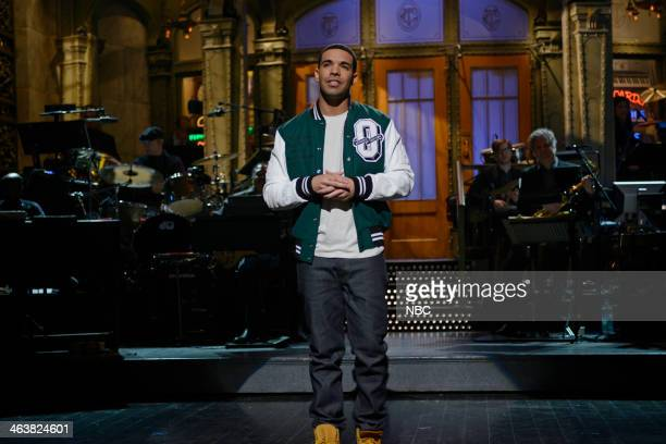 LIVE 'Drake' Episode 1652 Pictured Drake during his monologue on January 18 2014