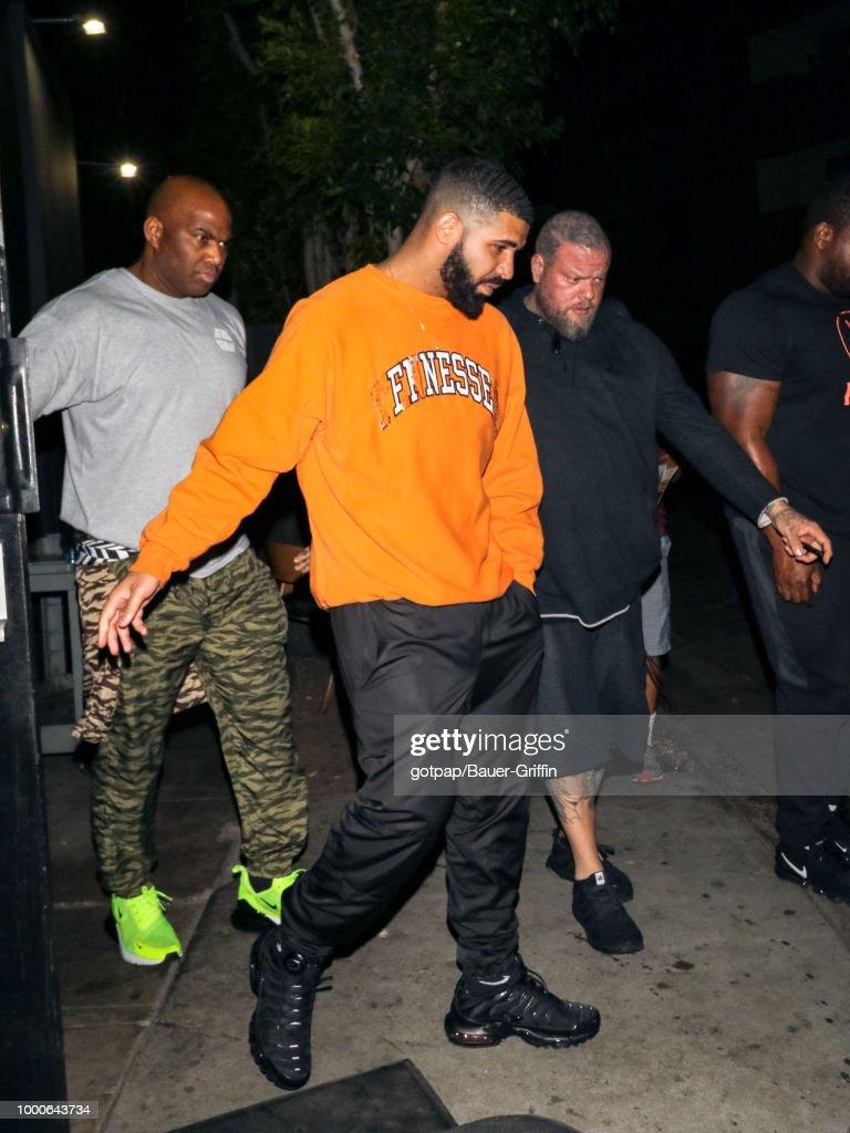 Celebrity Sightings In Los Angeles - July 17, 2018