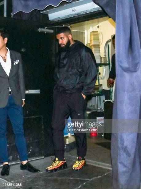 Drake is seen on September 17 2019 in Los Angeles California