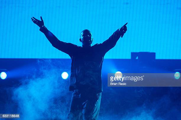 Drake performs at the O2 Arena on January 30 2017 in London United Kingdom