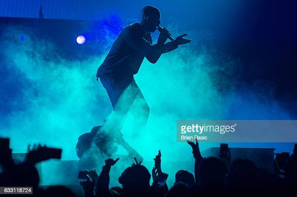 Drake performs at the O2 Arena on January 30, 2017 in London, United Kingdom.